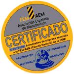 Logo certificado FEM 300